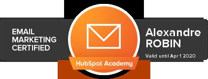 formation-marketing-digital-certification-HubSpot-email-marketing-alexandre-robin