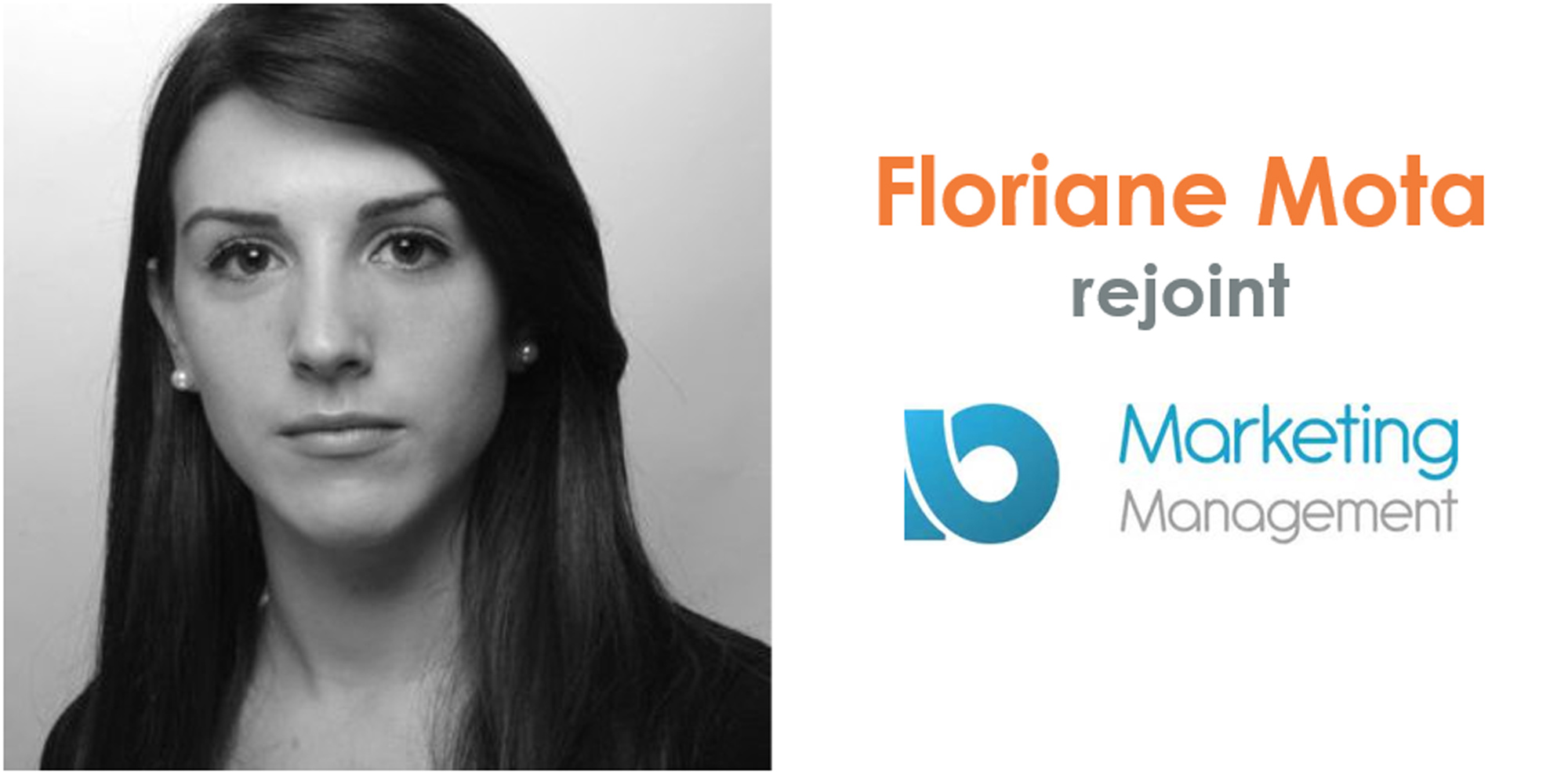 Floriane Mota rejoint Marketing Management IO